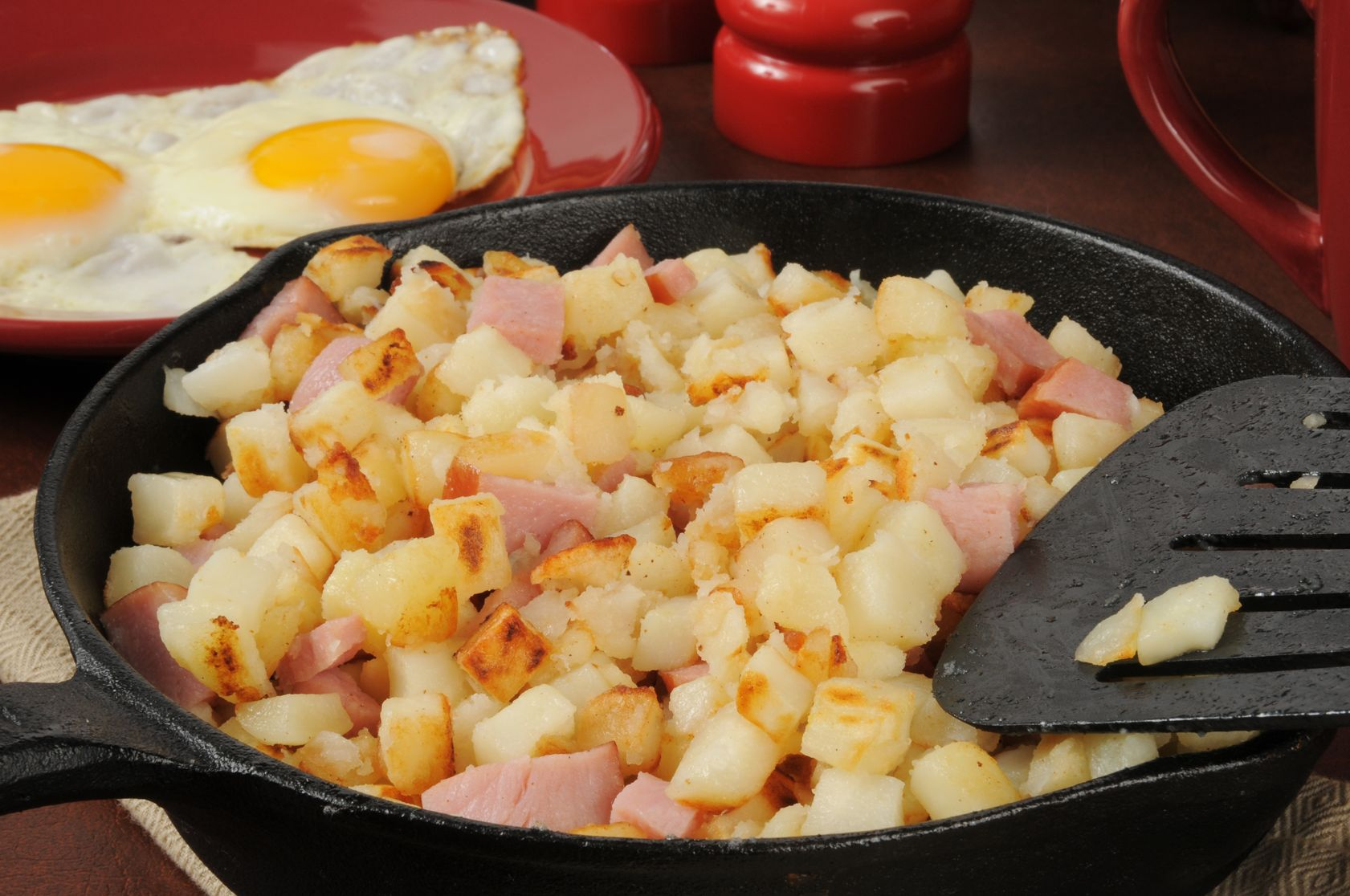 Ham and Sweet Potato Hash